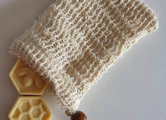 Organic Sisal Soap Pouch