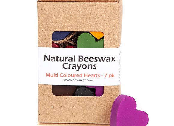 Heart Beeswax Crayons