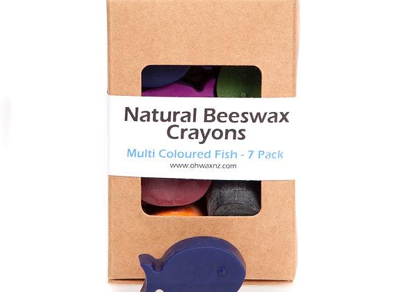 Fish Beeswax Crayons