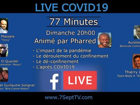 #COVID19 LIVE🎥 - 77 Minutes -