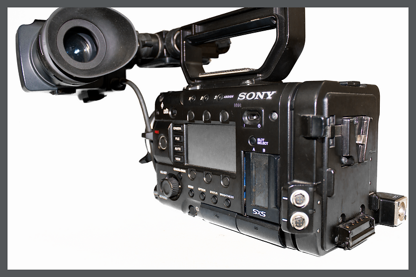 Sony PMW F5 with 4K Upgrade