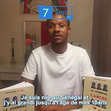 """#Interview - Mamadou BALDE - Auteur du livre """"Le Journal d'un Cancre"""""""
