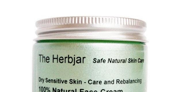 Dry Sensitive Skin - Care and Rebalancing - 100% Natural Face Cream