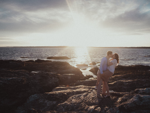Epic Engagement Photo Session in Newport, Rhode Island