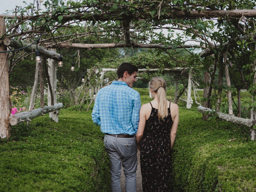 Dreamy Garden Proposal at Stone Acres Farm