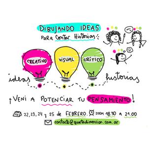 Dibujando Ideas para contar historias