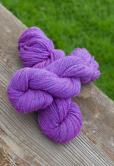 Purple Rain - Romney Yarn