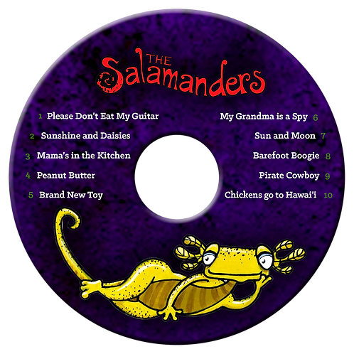 The Salamanders CD