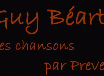 Guy Béart, ses chansons par Prevel