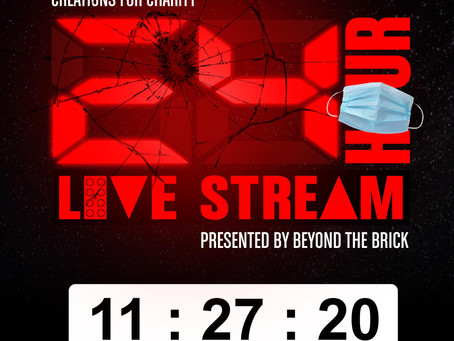 7th Annual Creations for Charity 24-Hour Live Stream