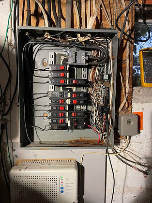 Electrical circuit breaker box replaceme