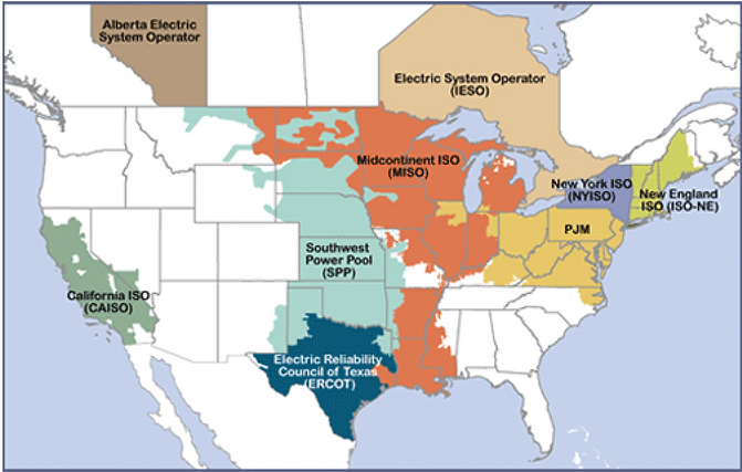 interconnection Grid in the united state