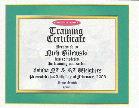 Ishida Weighers Training.png