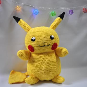 Pikachu Inspired Stuffed Animal
