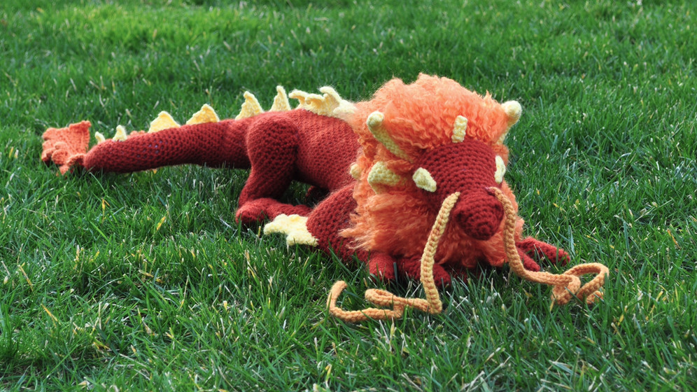 MY BIGGEST CUSTOM ORDER: Morax the Dragon