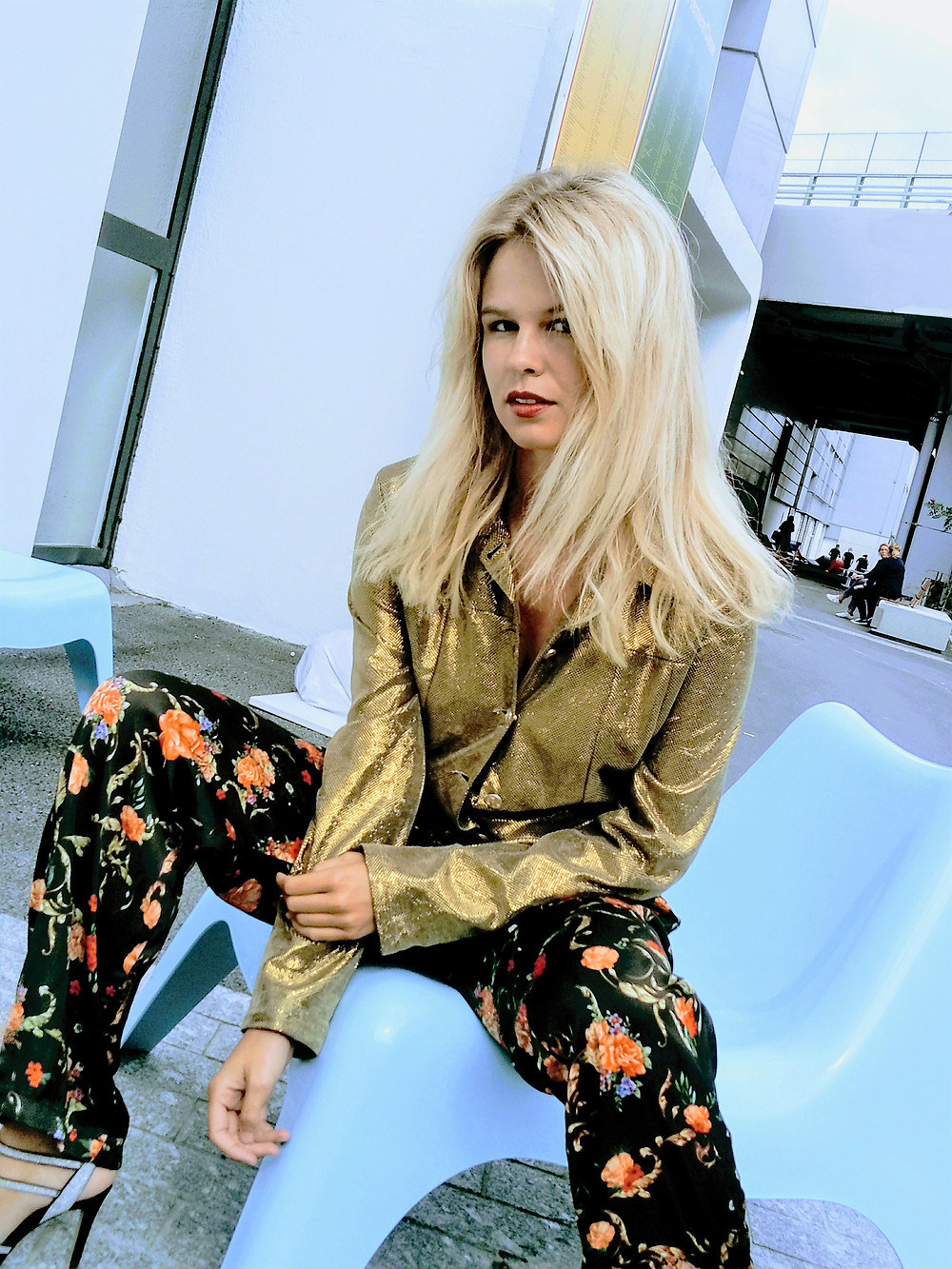 Julie in Paco Chicano collection spring summer 2108