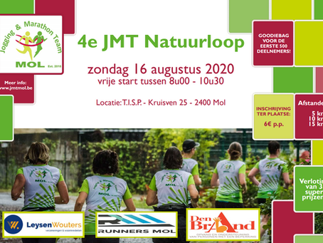 JMT Natuurloop gaat door op 16 augustus
