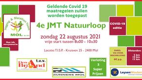 Inschrijvingen JMT Natuurloop zijn geopend
