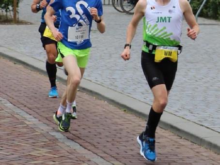 Onze webmaster in de Tilburg Marathon