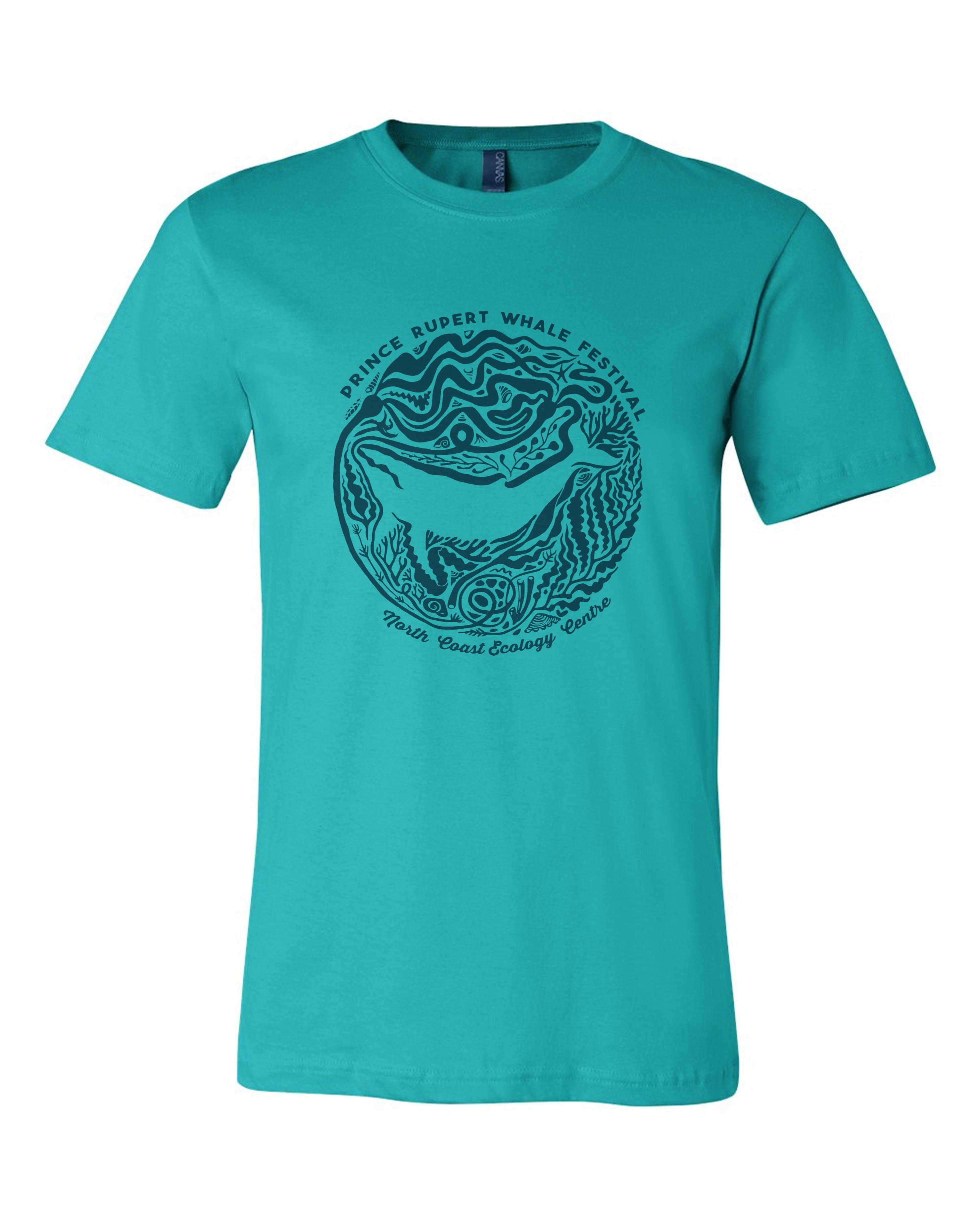 Prince Rupert Whale Festival T-shirt