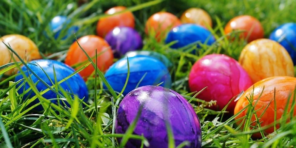 Annual Tot Easter Egg Hunt!