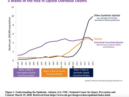 Opioid Mortality Trends in the USA and Pennsylvania