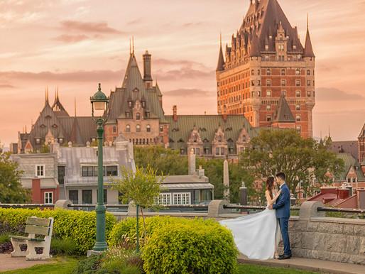 Quebec City Pre-wedding/Engagement Session
