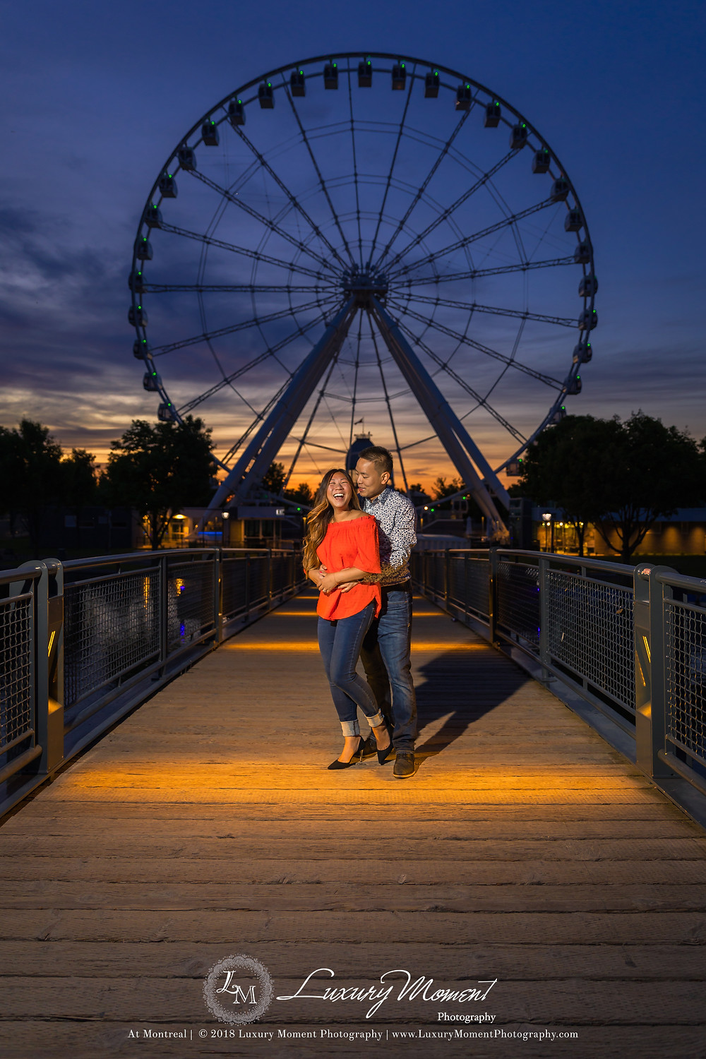 Montreal old port Engagement Session