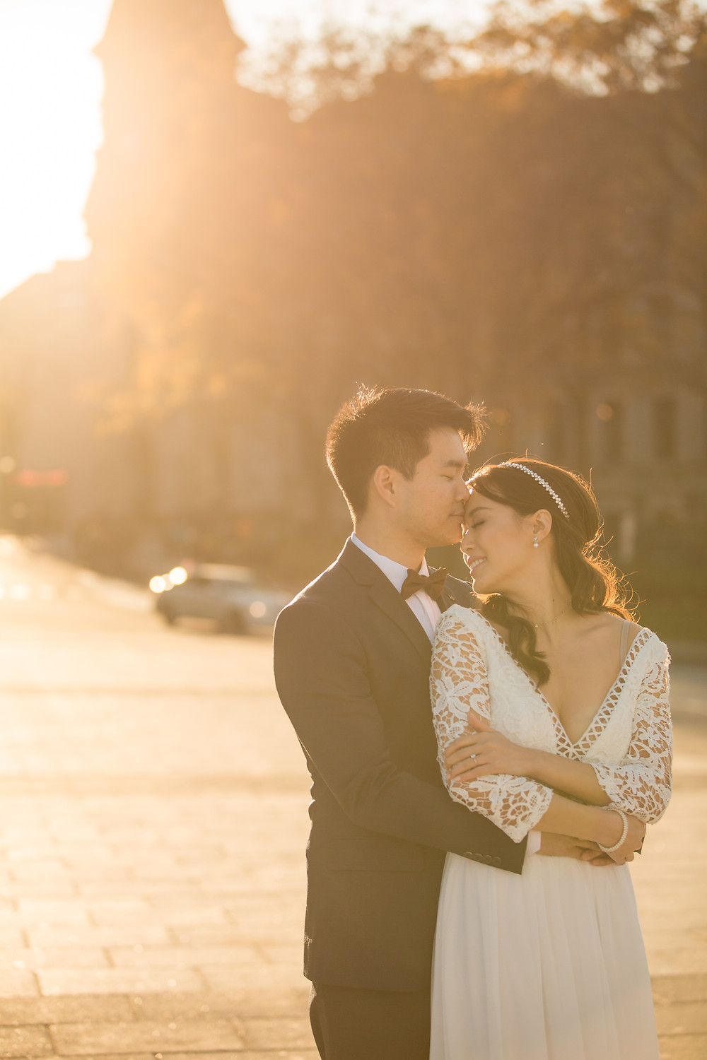 Quebec city Pre-wedding session