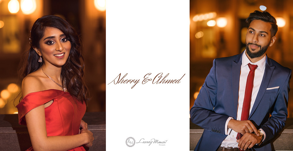 Sherry & Ahmed montreal engagment session