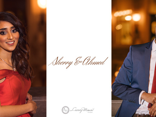 Sherry & Ahmed : A Montreal Metro & Old Port Engagement Session