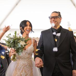 ROMANTIC VINEYARD WEDDING AT LA BULLERIE