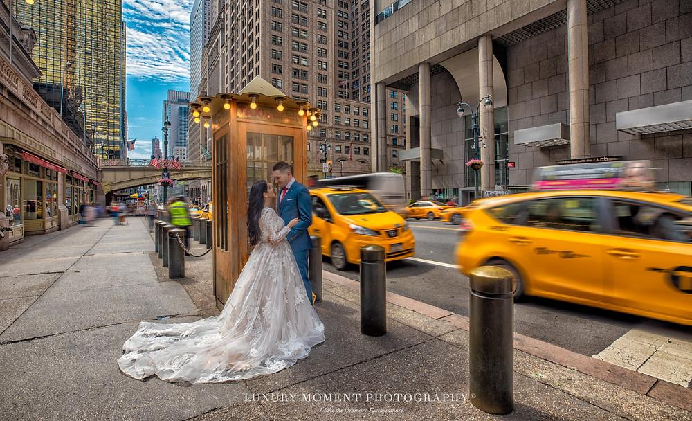 new york grand central pre-wedding