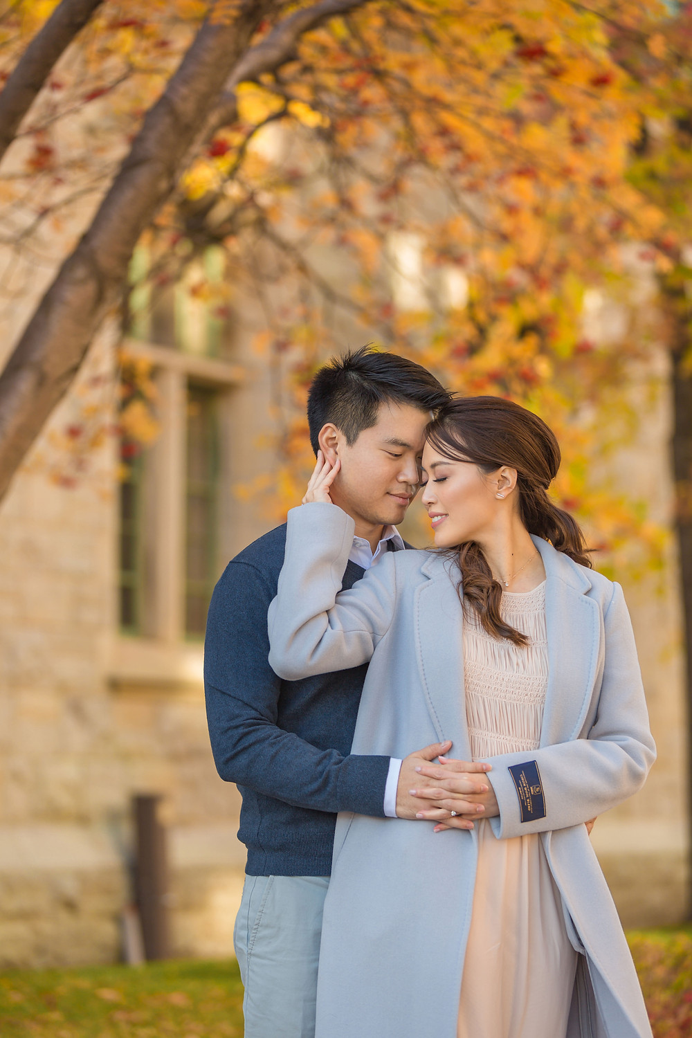 Quebec city engagement session