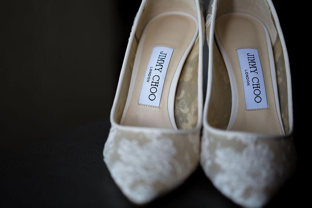 jimmy choo wedding shoe