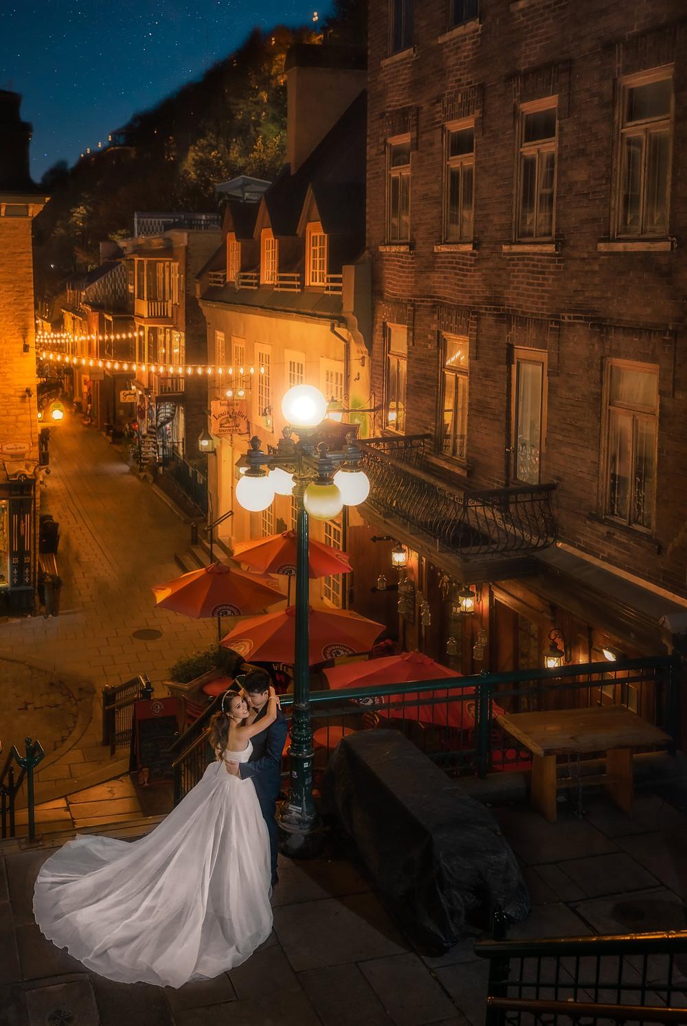Quebec city Pre-wedding session