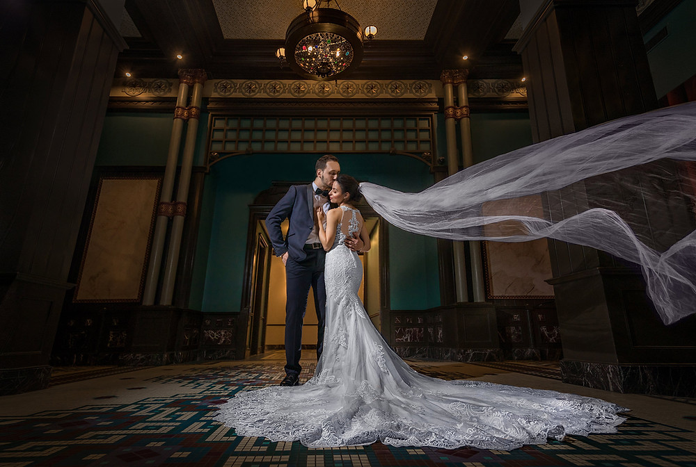 蒙特利尔婚纱照摄影