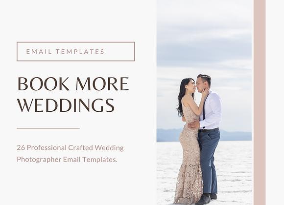 Wedding Photographer Email Templates PDF