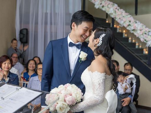Jenny & Minh's Intimate Wedding day - Plaza Centre-Ville