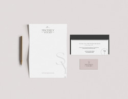 sincerely yours stationary
