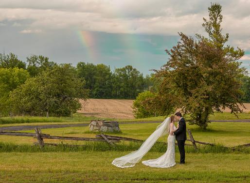 Kylie & Mark's Intimate Wedding - Romantic Backyard Wedding