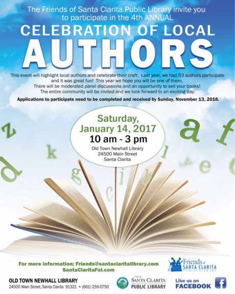 Author Celebration Poster copy