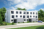 Viespänner Neubau mit 22 Wohneinhiten in Sezzle Reihenhau