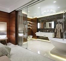 exklusiven Duschsystemen, Trennwandlösungen und Türsystemen