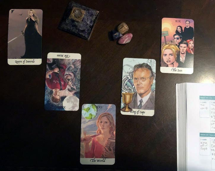 Five to Seven Card Reading