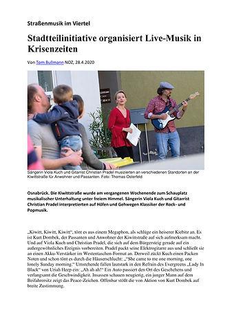 Straßenmusik im Viertel_Kiwittstraße_NOZ