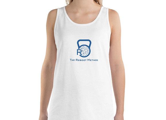 Débardeur unisexe logo TRM bleu