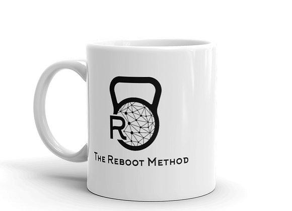 Mug blanc avec logo TRM noir