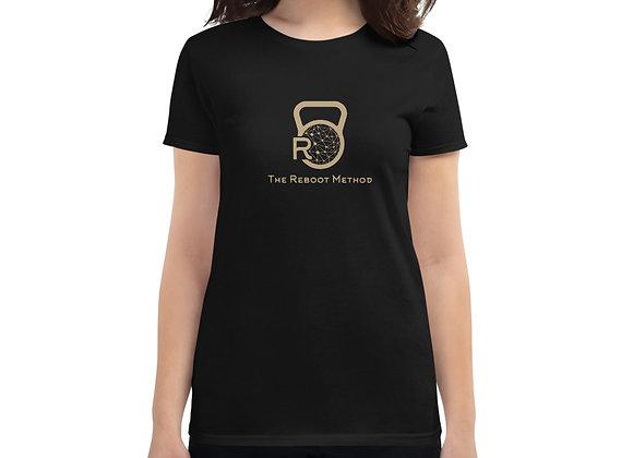 T-shirt femme logo TRM doré