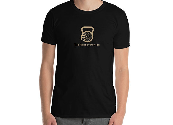 T-shirt homme logo TRM doré